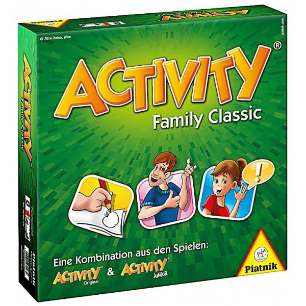 Piatnik Activity Family Clasic Ro 8 Ani+ 33516905