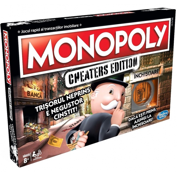 Monopoly Cheaters Ro 8 Ani+ 33523047