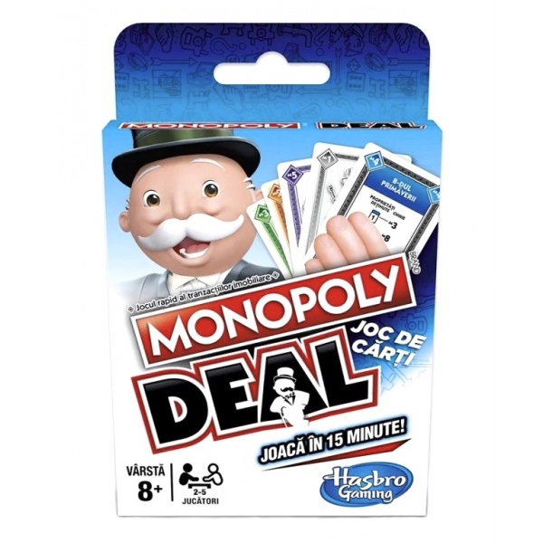 Monopoly Deal Ro 8 Ani+ 33525159
