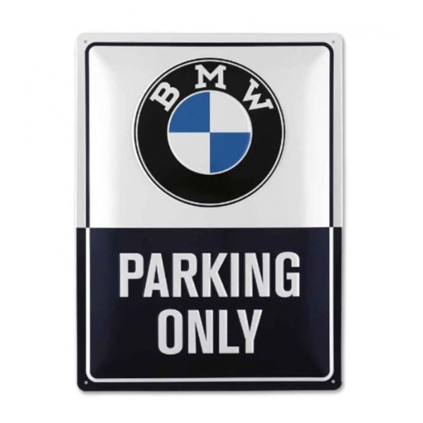 Semn Metal Oe Bmw Classic Parking Only 80282463140