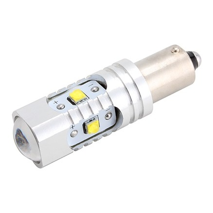 Led BAX9S 30W Lupa Canbus Cree 12-24V Alb