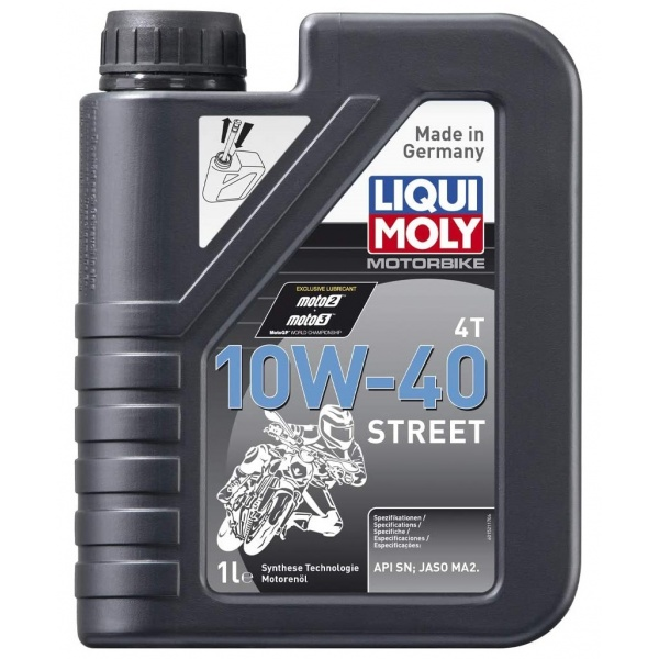 Ulei motor Liqui Moly Motorbike 4T 10W-40 Street 1L 1521