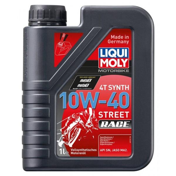 Ulei motor Liqui Moly Motorbike 4T Synth 10W-40 Street Race 1L 20753
