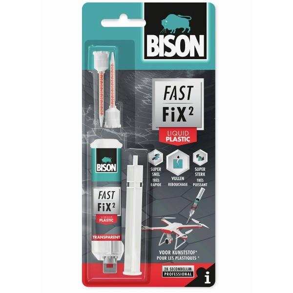 Bison Fast Fix Liquid Plastic 10G