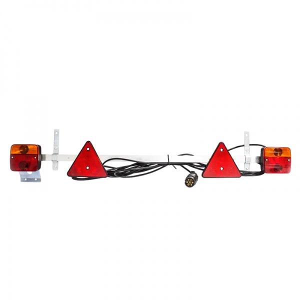 Bara Remorca Ajustabila 1-1.6M Cu Lampa & Cablu 7.5M DISSA79