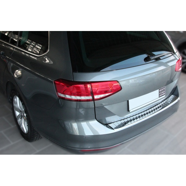 Ornament Protectie Portbagaj Metal Crom Volkswagen Passat B8 2014→ Combi