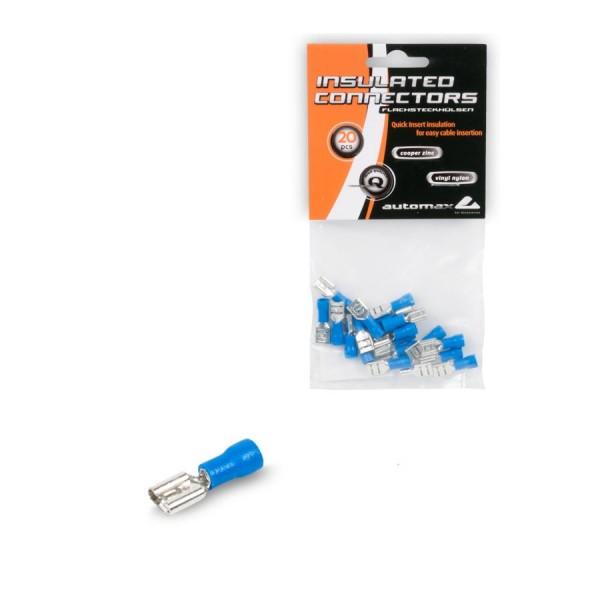 Set 20 Buc Conectori Fire Automax FDD2-250 Albastru 0757