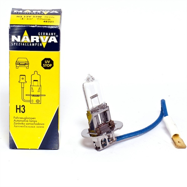 Bec Narva H3 12V 55W 48321