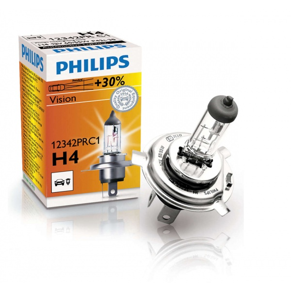 Bec Philips H4  P43T 12V 60/55W 12342PRC1