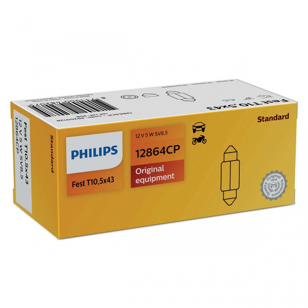 Bec Philips C5W 42MM 12W 5W 12864CP