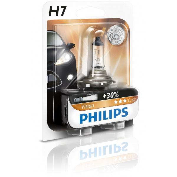 Bec Philips H7 12V 55W Blister 12972PRB1