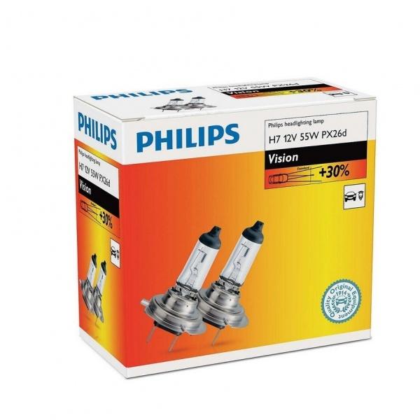 Bec Philips H7 12V 55W Set 2 Buc 12972PRC2