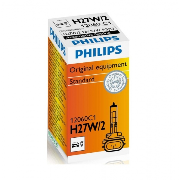 Bec Philips H27W/2 12V 27W