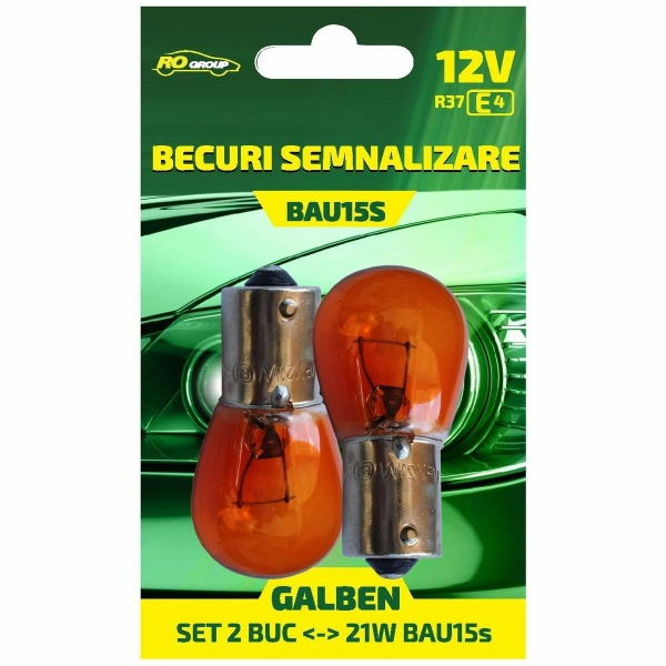 Bec Ro Group PY21W 12V Set 2 Buc BL1234