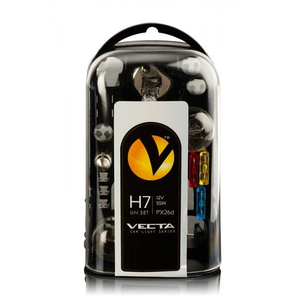 Set Becuri Vecta H7 12V 55W 3292
