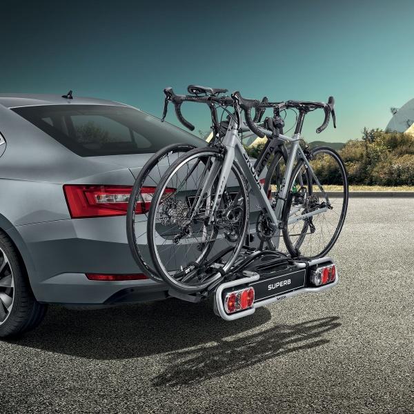 Suport 2 Biciclete Oe Skoda Vehicule Cu Carlig Remorcare 000071105F