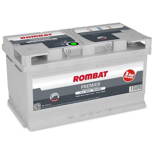 Baterie Rombat Premier 80Ah 760A 58023A0076ROM