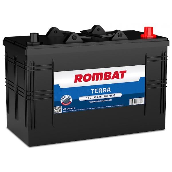 Baterie Rombat Terra 105Ah 700A 6056AJ0070ROM