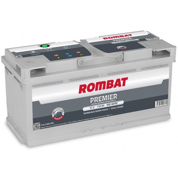 Baterie Rombat Premier 110Ah 950A 6102360095ROM