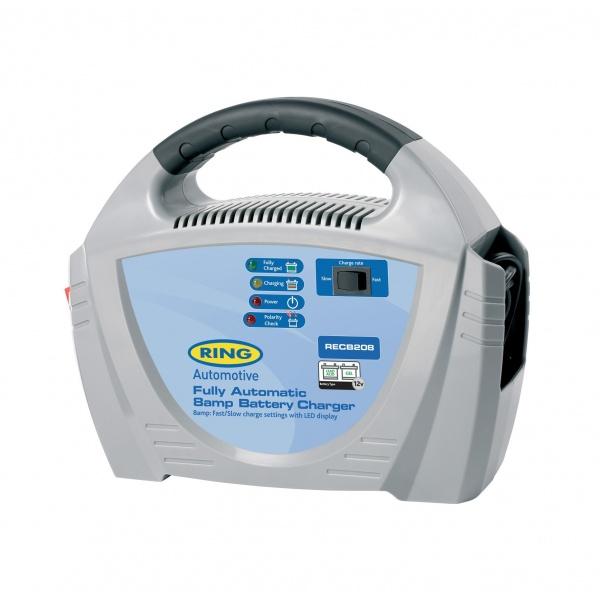 Redresor Baterie Ring RECB208 8A 120AH