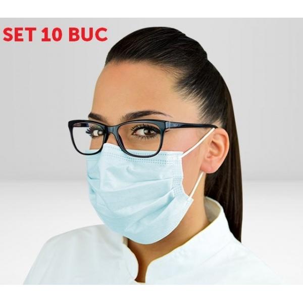Set 10 Buc Masti De Protectie Reutilizabile Sterilizate