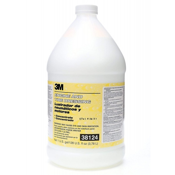 3M Solutie Luciu Anvelope Si Motor Engine And Tire Dressing 3.78L 38124