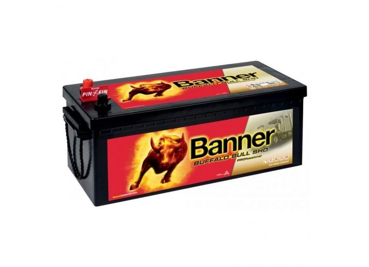 Baterie Banner Buffalo Bull Shd Professional 225Ah 72503