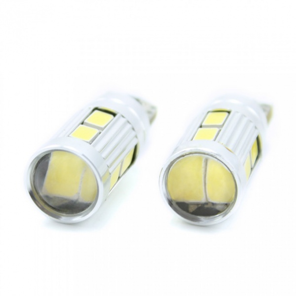 Carguard Set 2 Buc Led Auxiliar T10 CAN121