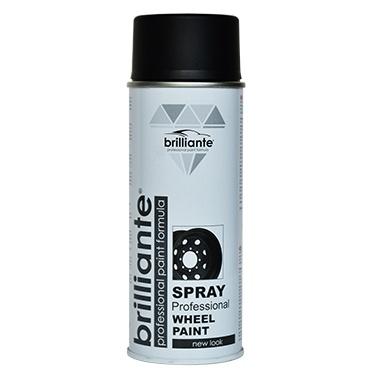 Spray Vopsea Brilliante Jante Negru Satin 400ML 10532
