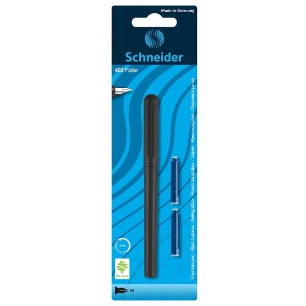 Schneider Stilou Unicolor Cu 2 Rezerve 045602