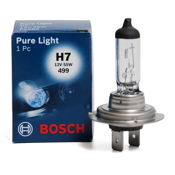 Bec Bosch H7 12V 55W Pure Light 1 987 302 777