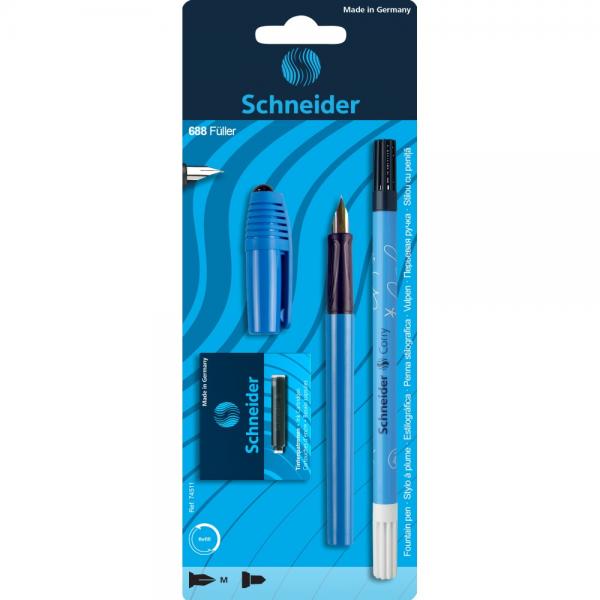 Schneider Set Stilou + Pic + 6 Rezerve Albastru 32507423