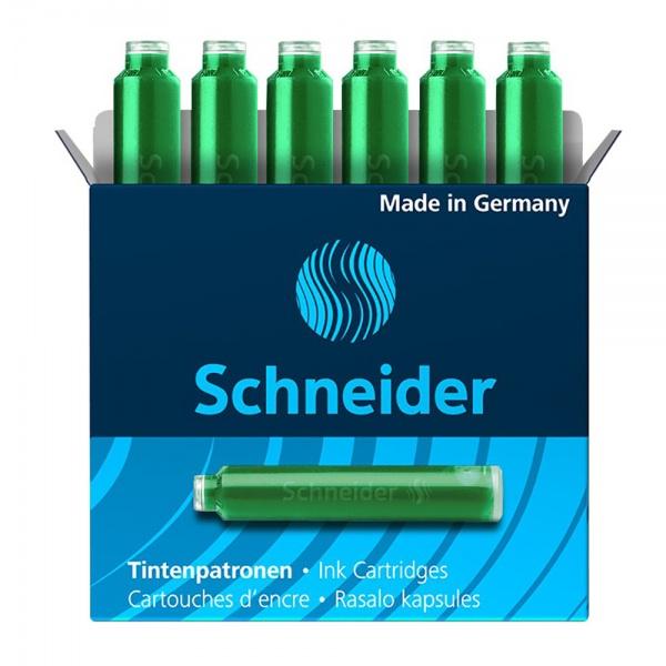 Schneider Set Patron Cerneala Cutie Cu 6 Bucati Verde 748050
