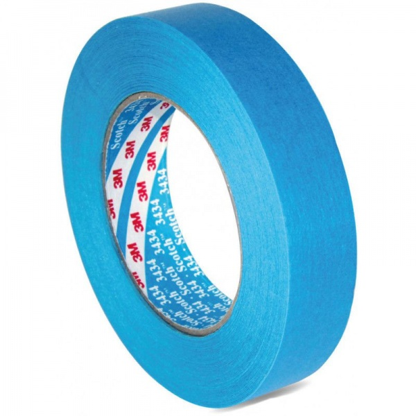 3M Banda Mascare Rezistenta La Apa High Performance Masking Tape 3434 19MM X 50M 07895
