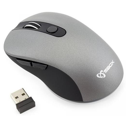 Sbox Mouse Wireless WM-911 1600 DPI Grey 45506615