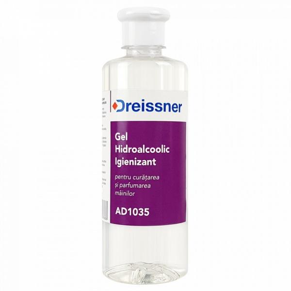 Dreissner Hidroalcoolic Igienizant Cu Aloe Vera + Vitamina E 500ML AD1035
