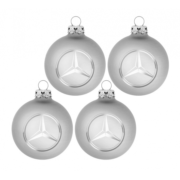 Set 4 Globuri Craciun Oe Mercedes-Benz B66953694