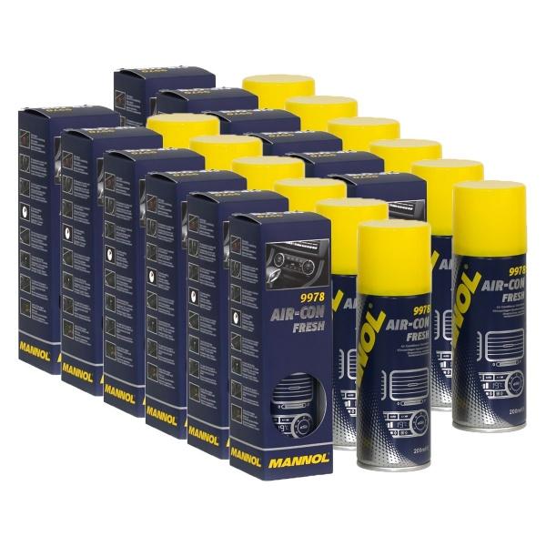 Pachet 12 Buc Mannol Solutie Curatat AC Air-Con Frech 200ML 9978