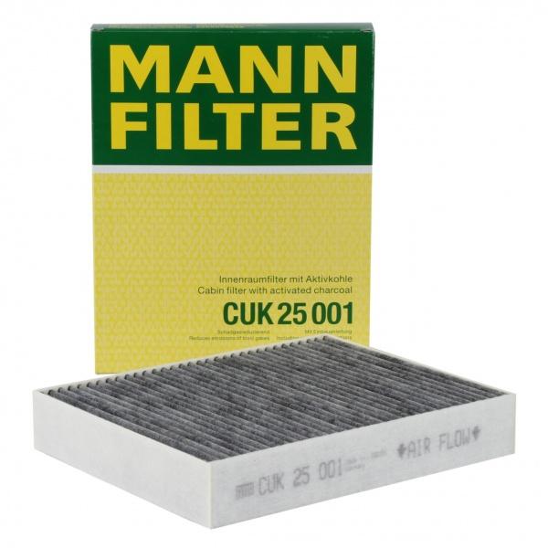 Filtru Polen Carbon Activ Mann Filter Bmw Seria 1 F20 2011-2019 CUK25001