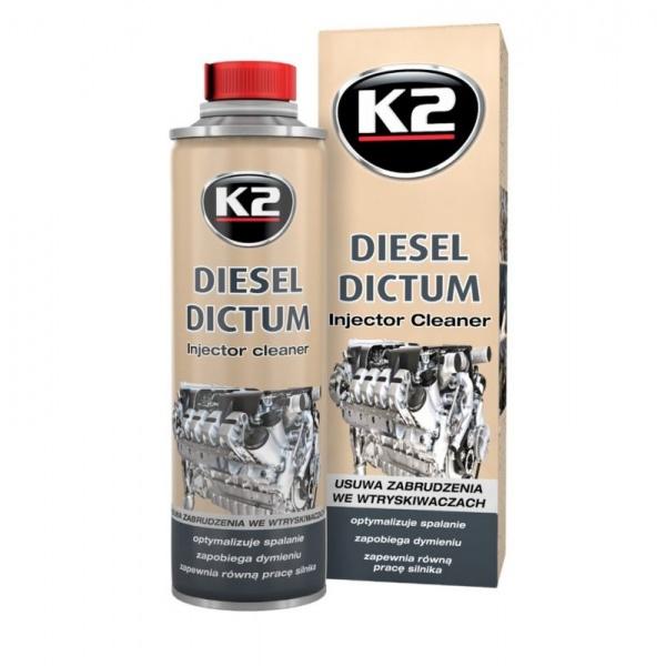 K2 Aditiv Curatat Injector Diesel Dictum 500ML W325