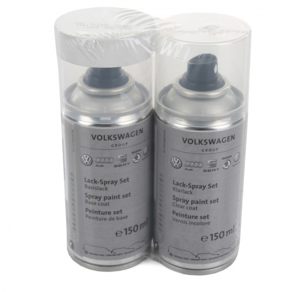 Set Spray Vopsea + Lac Oe Volkswagen Candy White Uni LLS0U6B9A