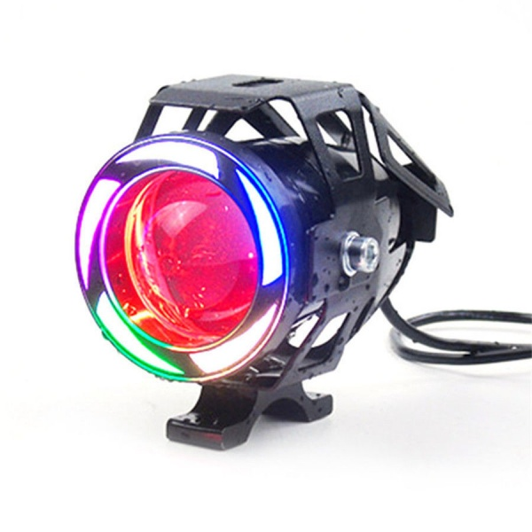 Proiector Led Angel Eyes Motocicleta / Atv Stroboscopic 10W