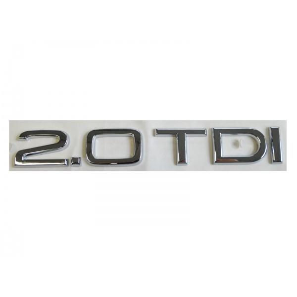 Emblema 2.0 TDI Oe Audi 8P0853743G2ZZ