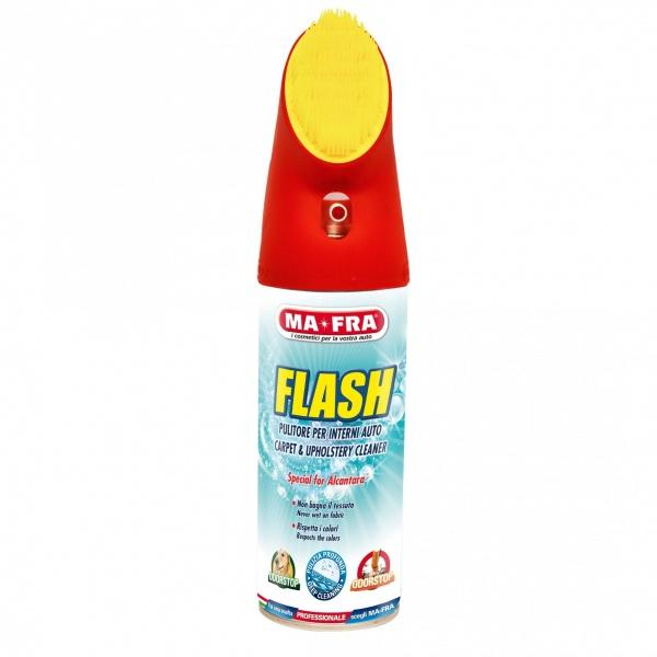 Ma-Fra Spray Curatat Tapiterie Textila Flash Cu Perie 400ML H0486MA