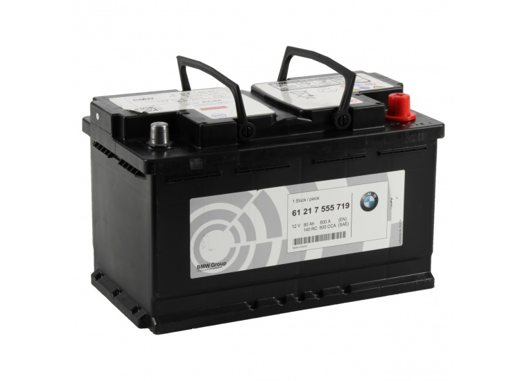 Baterie Oe Bmw AGM 80Ah 12V 800A 61217555719