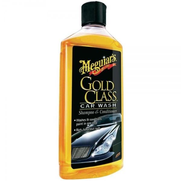 Meguiar's Detergent Spalat Exterior Gold Class Car Wash Shampoo & Conditioner 473ML G7116