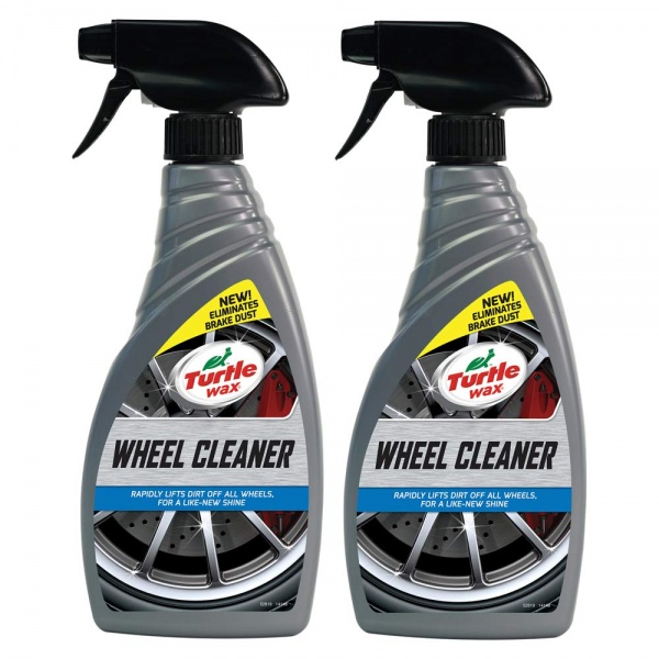 Set 2 Buc Turtle Wax Solutie Curatat Jante All Wheel Cleaner 500ML FG52819