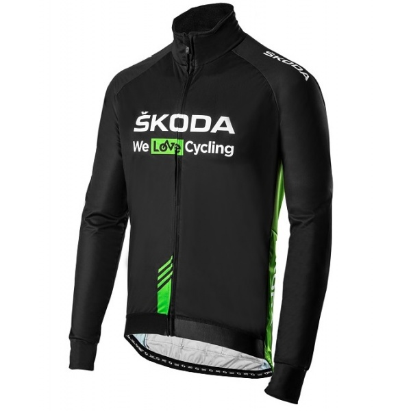 Geaca Barbati Oe Skoda We Love Cycling WLC Verde / Gri Marime S 000084612G