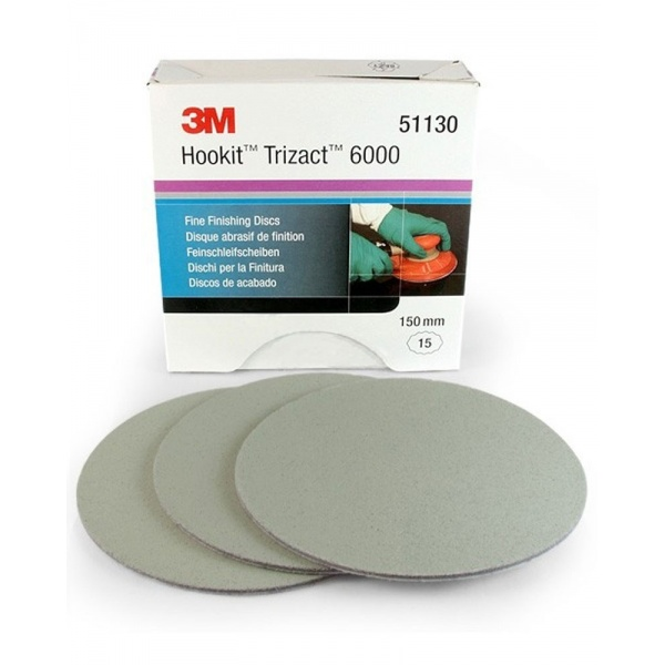 3M Disc Trizact P6000 150MM 51130