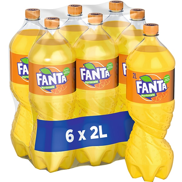 Bax 6 Buc Fanta Orange 2L